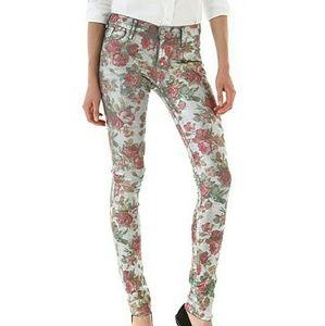 Goldsign floral jeans